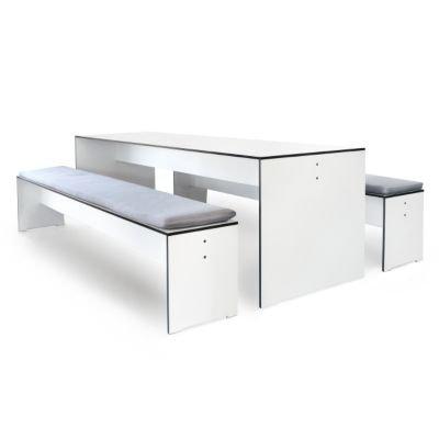 Riva Tisch 220 x 70 cm - weiß