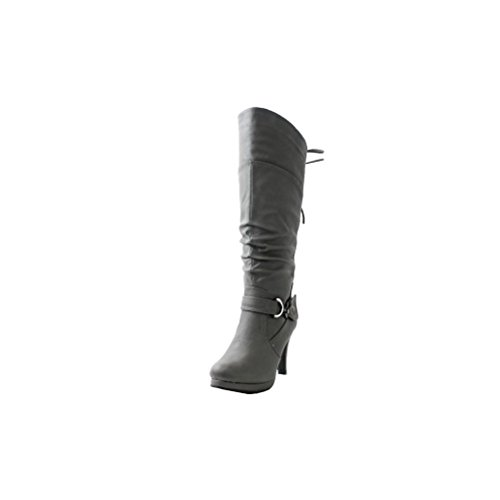 Top-Moda-PAGE-65-Womens-Knee-High-Round-Toe-Lace-up-Slouched-High-Heel-Boots