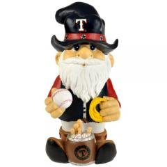 "Handcrafted Texas Rangers MLB Garden Gnome 11.5"" Thematic Sports Baseball Outdoor Decor Garden Art at Amazon.com"