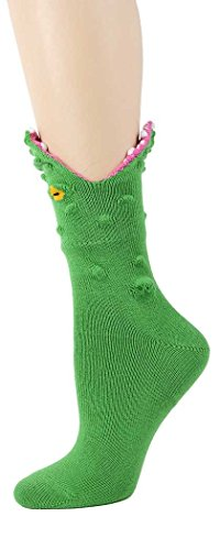 Foot Traffic Alligator 3-D Socks