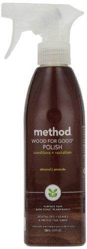 method Wood For Good Spray, Almond, 12 oz (Method Wood Cleaner compare prices)