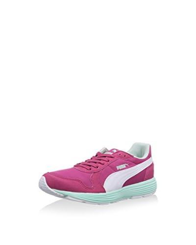 PUMA Sneaker Future St Runner Jr [Blu Scuro/Bianco/Blu]