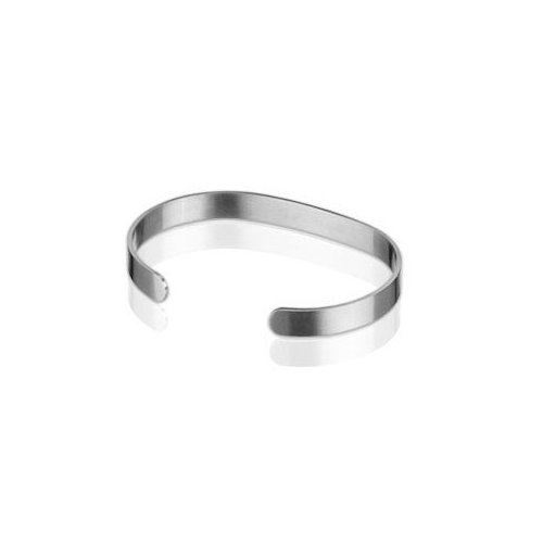 Qray Lite Medium Bracelet Flexible Q-Ray Stainless