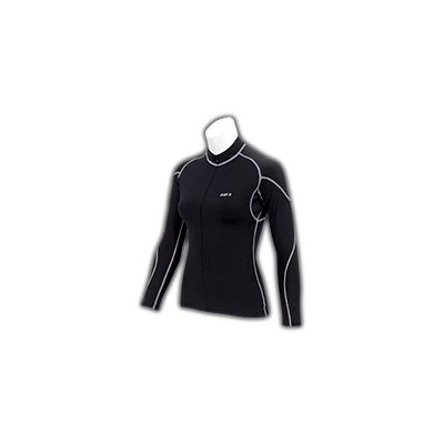Buy Low Price Louis Garneau Women's Scoop Long Sleeve Cycling Jersey – Black – 6823146-020 (B000IAFVNI)