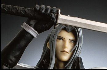 FINAL FANTASY VII ADVENT CHILDREN PLAY ARTS セフィロス