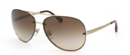 D&G Dd6086 Sunglasses-1107/13 Matte Pale Gold (Brown Gradient Lens)-64Mm