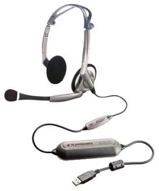 Plantronics .Audio 400 DSP Digitales USB-Stereo-PC-Headset