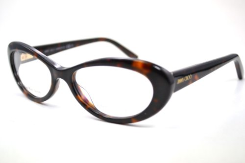 Jimmy Choo JIMMY CHOO Eyeglasses 68 0TVD Havana 51mm