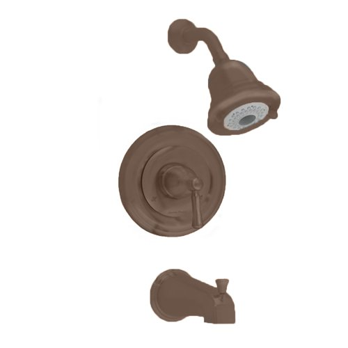 American Standard T420.502.224 Portsmouth Bath and Shower Trim Kit with Round Escutcheon, Oil Rubbed Bronze (American Standard Trim Kit Bronze compare prices)
