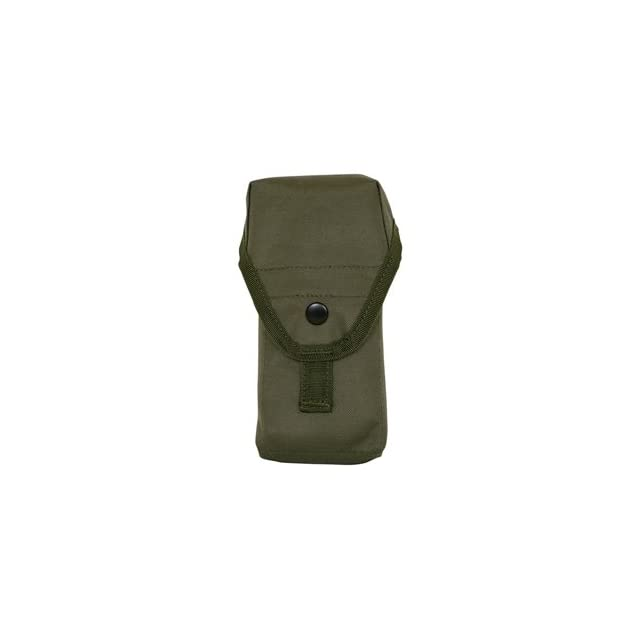 Olive Drab Double M16 Ammo Pouch (Army, Military, Police, & Security Type)