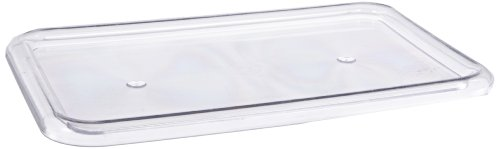 Childcraft Storage Tray Lid ONLY- Fits Trays 12 1/4 x 7 7/8 x 5 1/4 - Clear - Tray Not Included - 1
