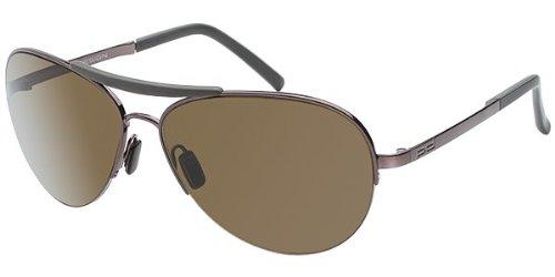 Porsche Designs Sunglasses P8540 B Dark Brown Brown 60 14 130