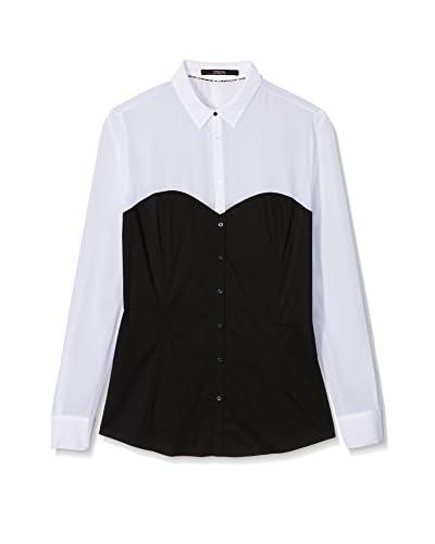 Guess Camicia Donna Ludmila [Nero/Bianco]