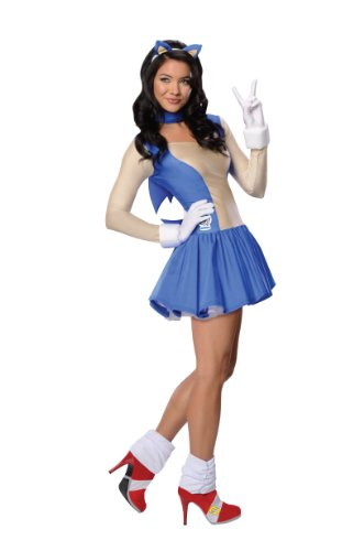 Rubie's Costume Sonic The Hedgehog Adult Dress and Accessories