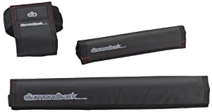Diamondback Lite 3-piece Pad Set, Black