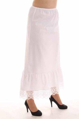 Isar Trachten Damen Unterwäsche & Unterrock 44650 WEIß lang kaufen