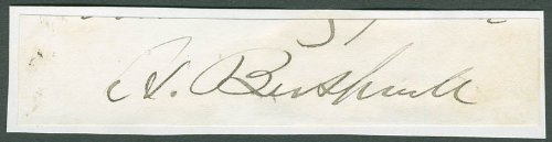 Horace Bushnell - Clipped Signature