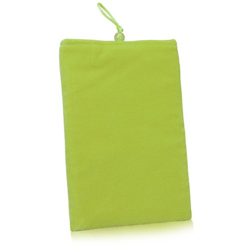 BoxWave Aluratek Libre Touch eBook Reader Case - BoxWave Velvet Aluratek Libre Touch eBook Reader Pouch, Slim-Fit Carrying Sleeve (Olive Green)