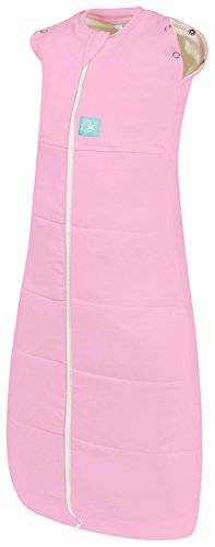 ergoPouch ERS342/5 ergoCocoon 2.5 TOG Swaddle and Sleep Bag, Pink, 0-3 Months - 1