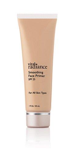 Vital Radiance Smoothing Face Primer, SPF 25, Petal 002, Cool, 1 fl oz