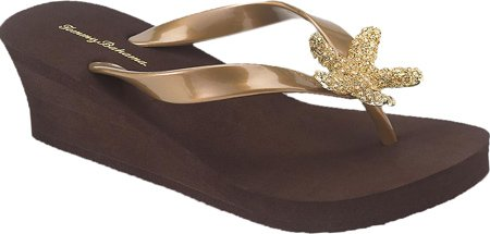 Tommy Bahama Women'S Starfish Wedge,Bronze Rubber,Us 8 M front-803540