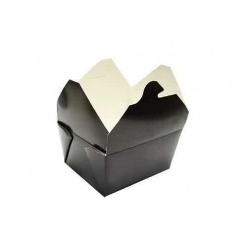 Bio-Pak Container - schwarz - #1 - Bio Pak Verpackung - 22oz / 650ml - 1 Stück