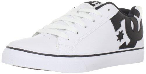 DC Shoes Men's Court Vulk White/Black Trainer D0303181 11 UK