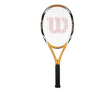 Wilson K Zen Team FX (103) Tennis Racquet - 27-Inch, Orange