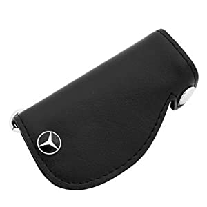Mercedes benz leather key cover genuine for Mercedes benz key cover