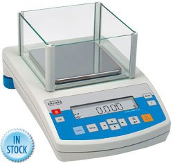 Nevada Weighing Radwag PS 360.R1 Precision Toploading Milligram Balance With External Calibration, 360 g x 0.001g