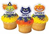 Halloween Smiles Cupcake Toppers