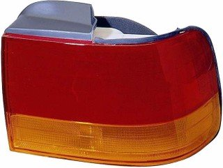 QP H1107-b Honda Accord Passenger Sedan Tail Light Lens & Housing