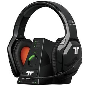 Tritton Warhead 7.1 Wireless Surround Headset Surround - Wireless - 33 Ft - 25 Hz - 20 Khz - Over-The-Head - Binaural - Circumaural