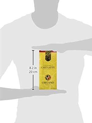 Organo Gold Gourmet Cafe Latte Coffee With Ganoderma Lucidum (1 Box of 20 Sachets) by Organo Gold