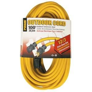 100 Ft 12/3 Outdoor Extension Cord