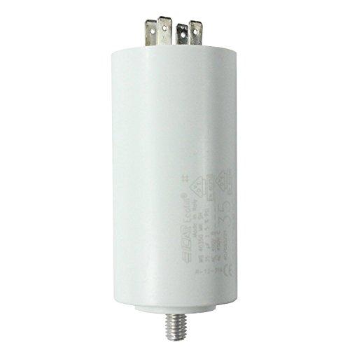 spares2go Start Run Motor Kondensatoren für Bosch Geräte 331.13215uF MF bis 80uF Spaten Connector/Tags 35UF