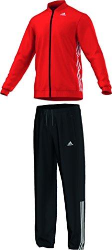Adidas, Tuta da allenamento Uomo Essentials, Arancione (Bold Orange/White), S/M