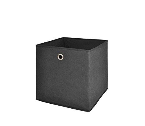 Alfa-2-Faltbox-fr-offene-Regalsyteme-Anthrazit-24-x-24-x-24-cm