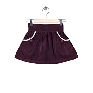 Corduroy Skirt - Purple | 32756