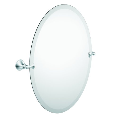 Moen DN2692CH Glenshire Oval Tilting Mirror, Chrome