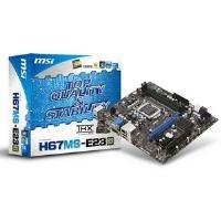 MSI Intel H67 Socket1155 2DDR3