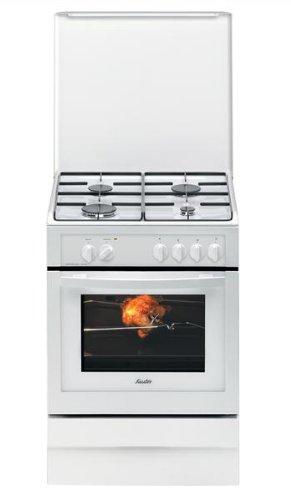 Sauter SCM1020W Cuisinière Gaz Largeur : 60 cm Classe: B Blanc