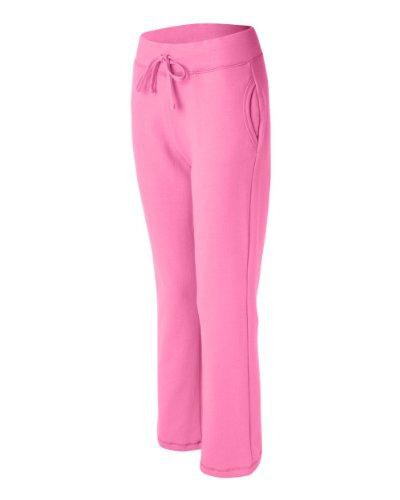 Ladies' Heavy Blend Yoga Style Sweatpants,Small,Azalea
