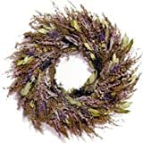 "FRAGRANCE WREATH 18"" Dried Lavender, Rosemary, Sage, Myrtle, Pennyroyal"