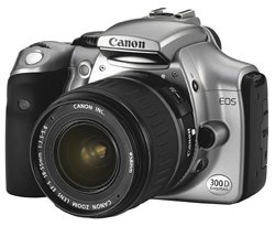 Canon EOS 300D Digital SLR Camera [6MP] with EF18-55mm Lens