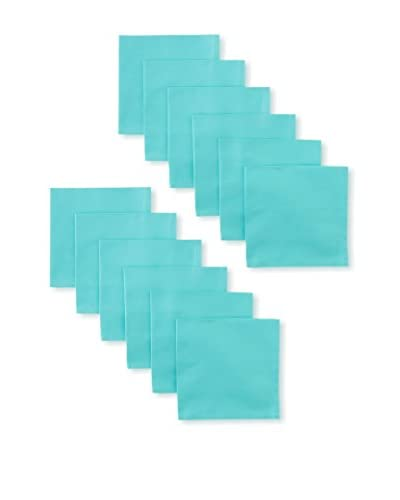 Garnier-Thiebaut Set of 12 Confetti Napkins, Azur