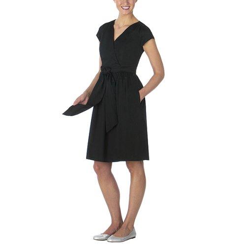 Isaac Mizrahi for Target® Wrap Dress - Ebony