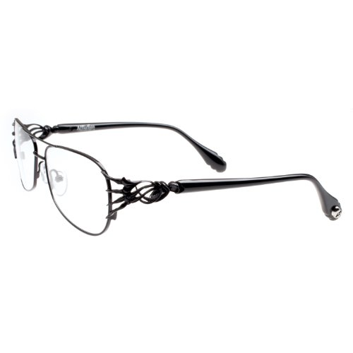 Affliction DAMIAN Designer Eyeglasses - Black./Black
