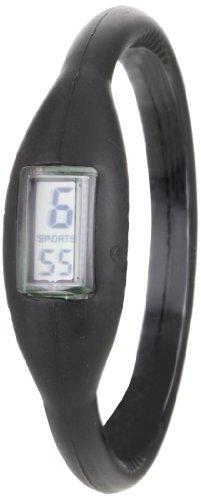 The Original Skinny Men's Large SWML01 Negative Ion Black Sports Watch