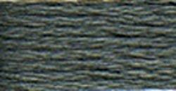 DMC Pearl Cotton Skeins Size 5 27.3 Yards Dark Pewter Grey 115 5-413; 12 Items/Order